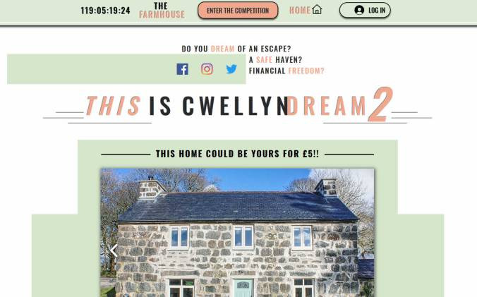 Win a Traditional Stone Farmhouse on the Llyn Peninsula in North Wales