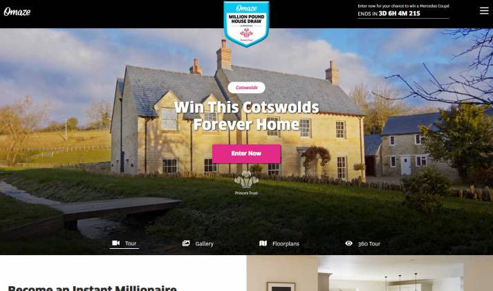 Win a Newly Built Stone House in the Cotswolds with Land