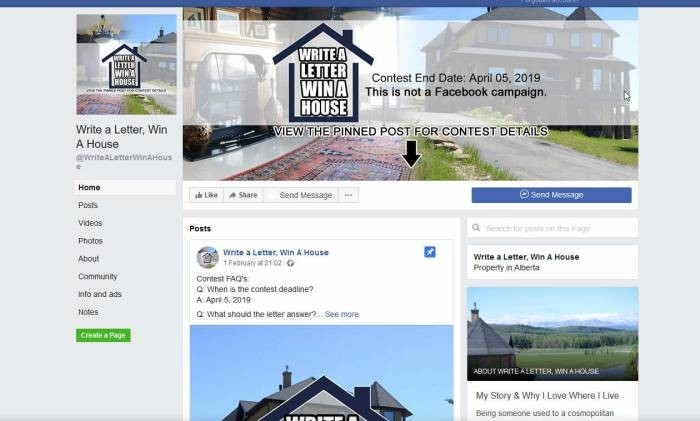 Win A Three Storey House In Canadian Village Near Calgary