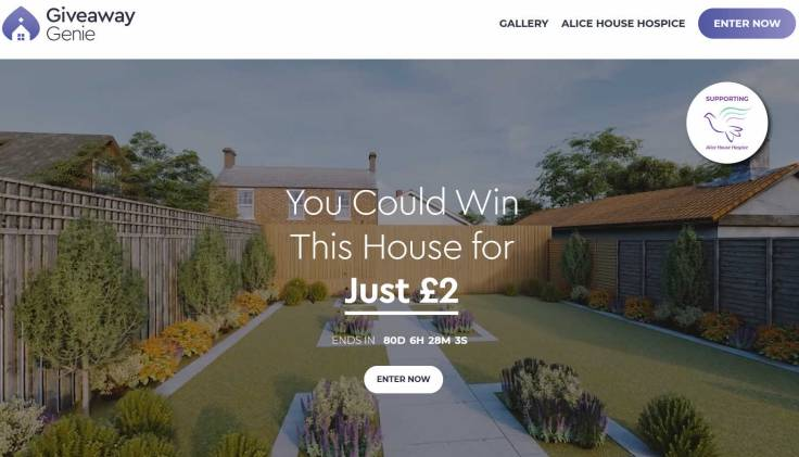 Win a Refurbished Three Bedroom House in the North East