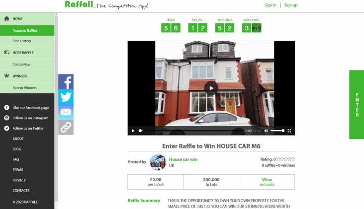 Win a Five Bedroom Semi-Detached House in Salford Manchester