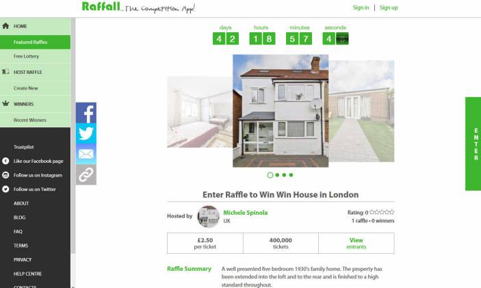Win a Semi-Detached Five Bedroom House in Streatham London