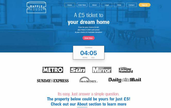 Win a One bedroom flat in Brixton