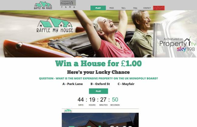 Win a Bungalow near Birmingham