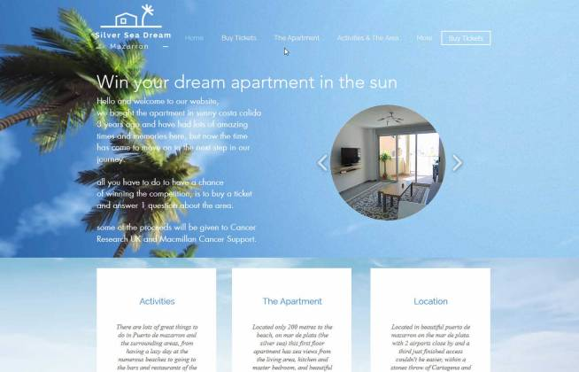 Win an Apartment by the sea in Murcia