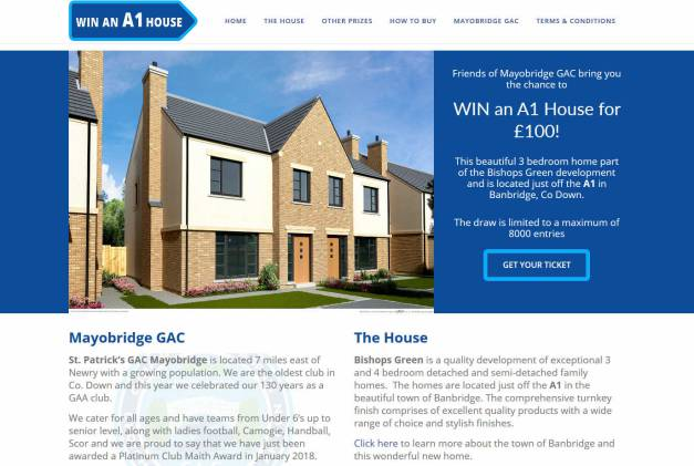 Win a New Build Three Bedroom House in Northern Ireland
