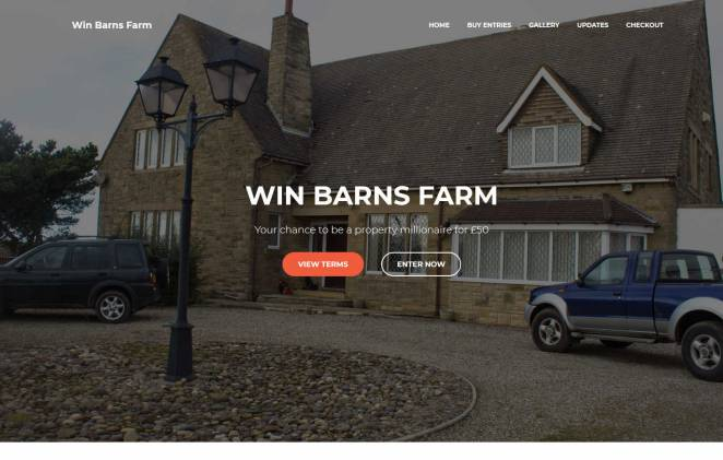 Win a Farm House with Stables and Land in Yorkshire