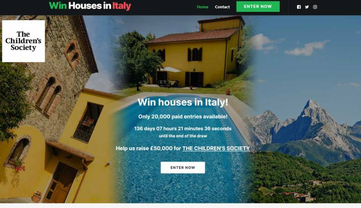 Win a House with Pool in Garfagnana area of Tuscany