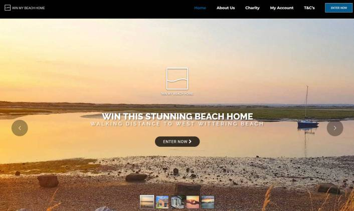 Win a Bungalow near the Beach At West Wittering