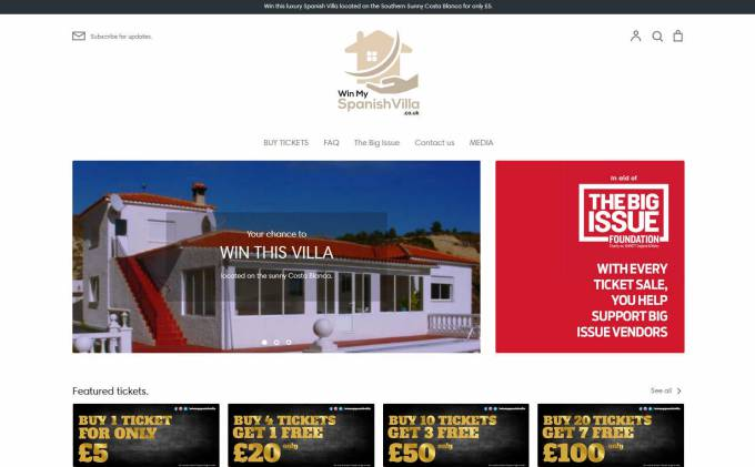 Win a Large Costa Blanca Villa with Pool and Sea Views