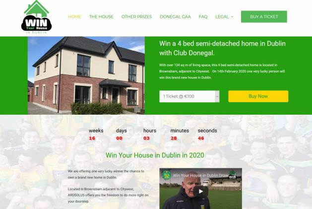 Win a New Build Four Bedroom House in the Suburbs of Dublin