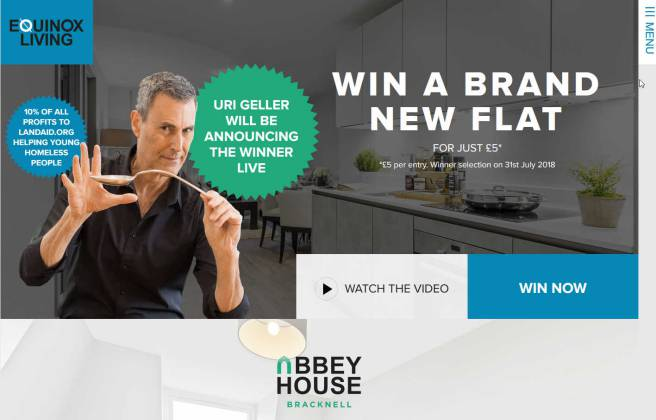 Win a Newly built flat in Bracknell