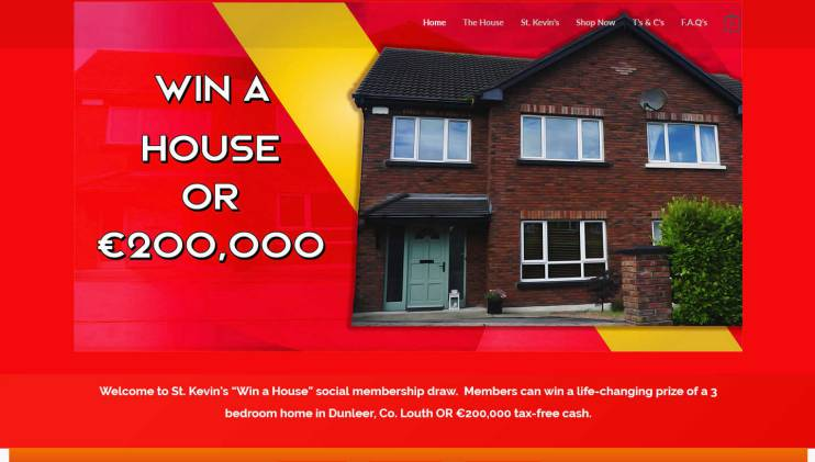 Win a New Build three bedroom semi-detached house in Ireland